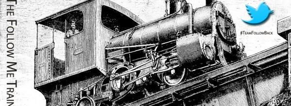 Twitter Follow Train