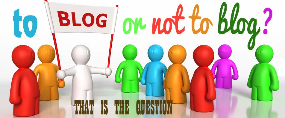 Should a performer blog?